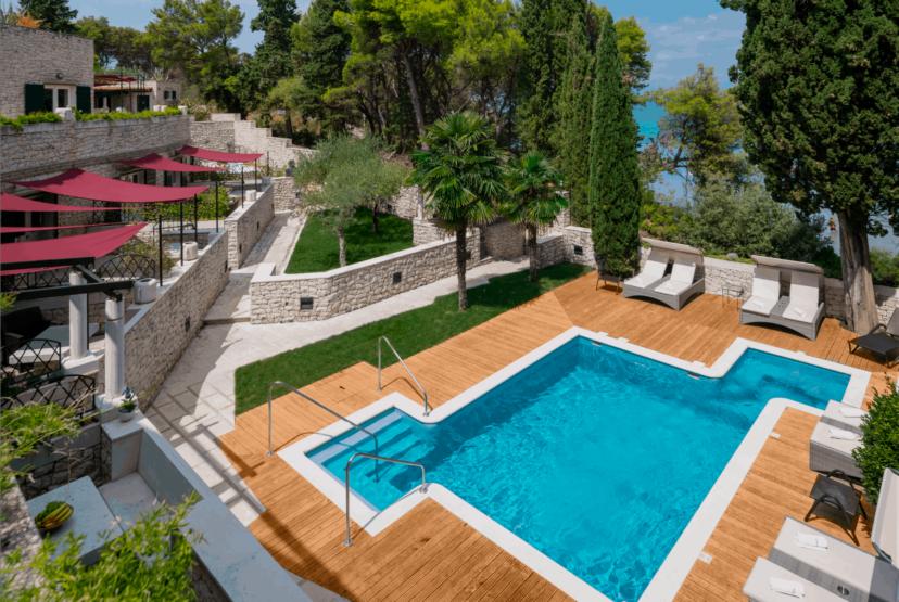 Villa Diocletian`s Palace, Island of Brač