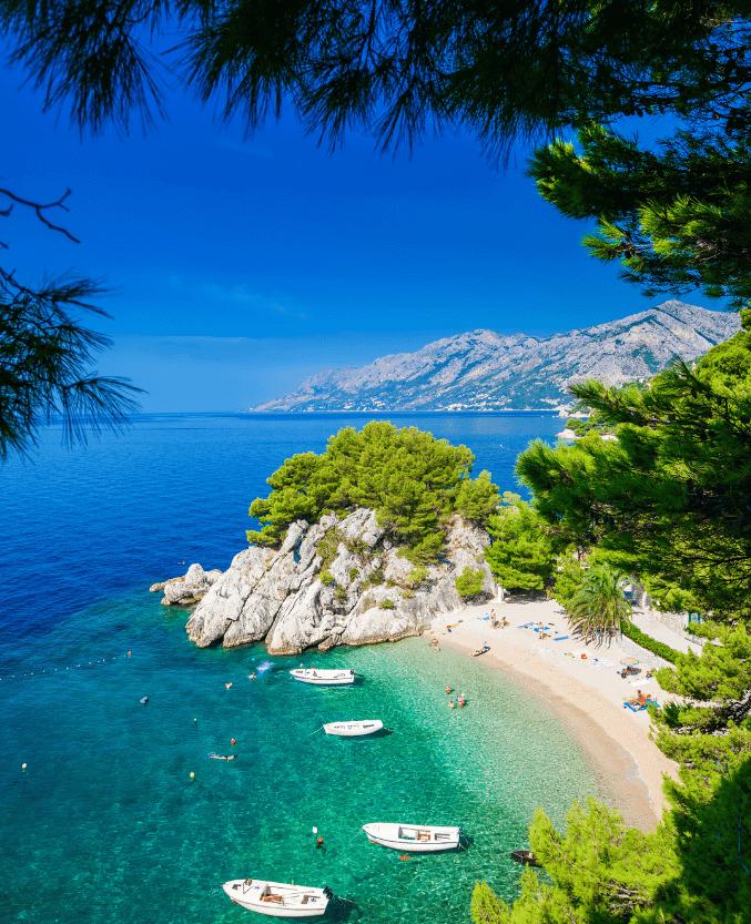 DLHV_beutiful Croatian beaches with tirquise clear sea